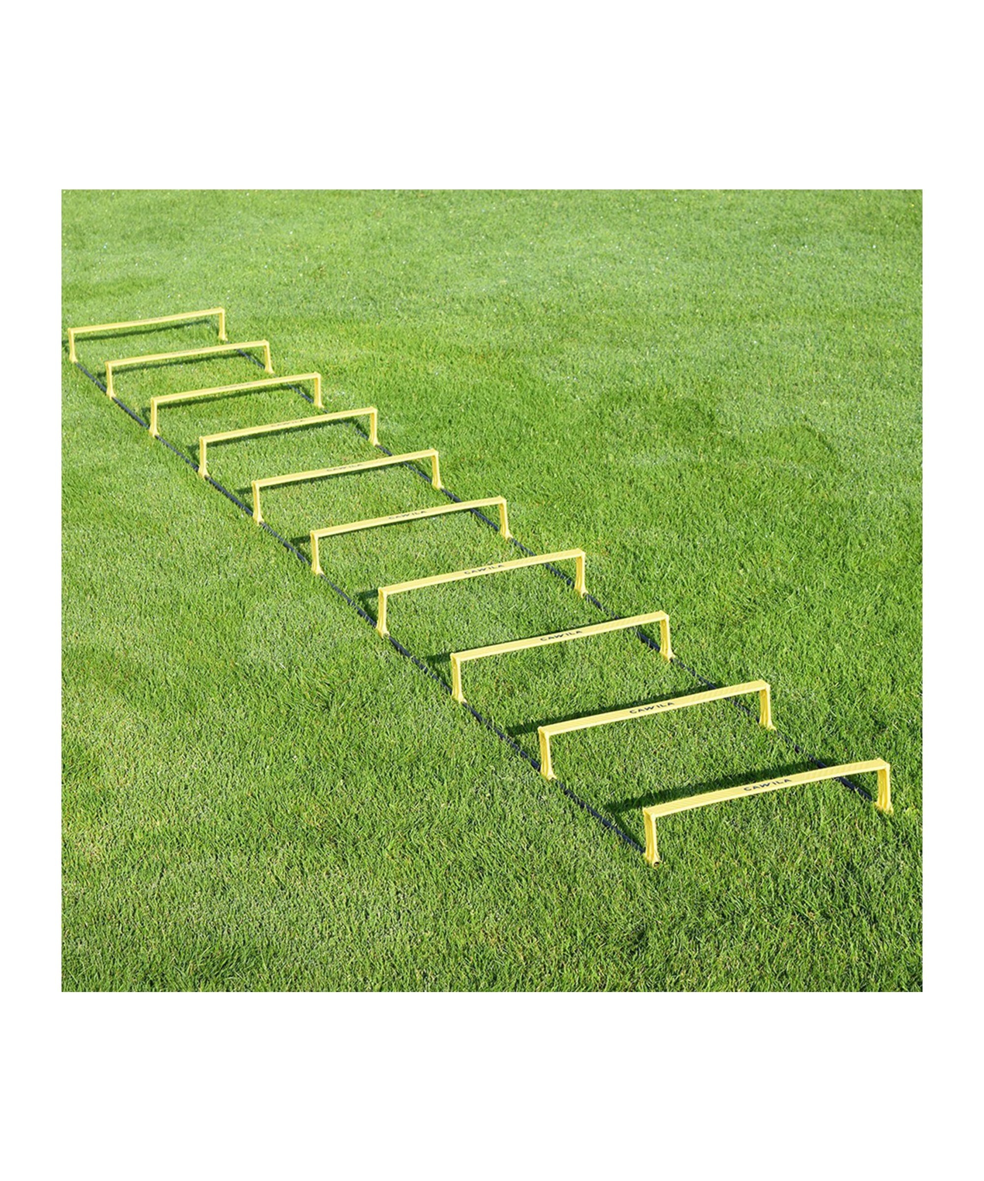 Cawila Step-Koordinationsleiter 6 Stege Gelb - gelb