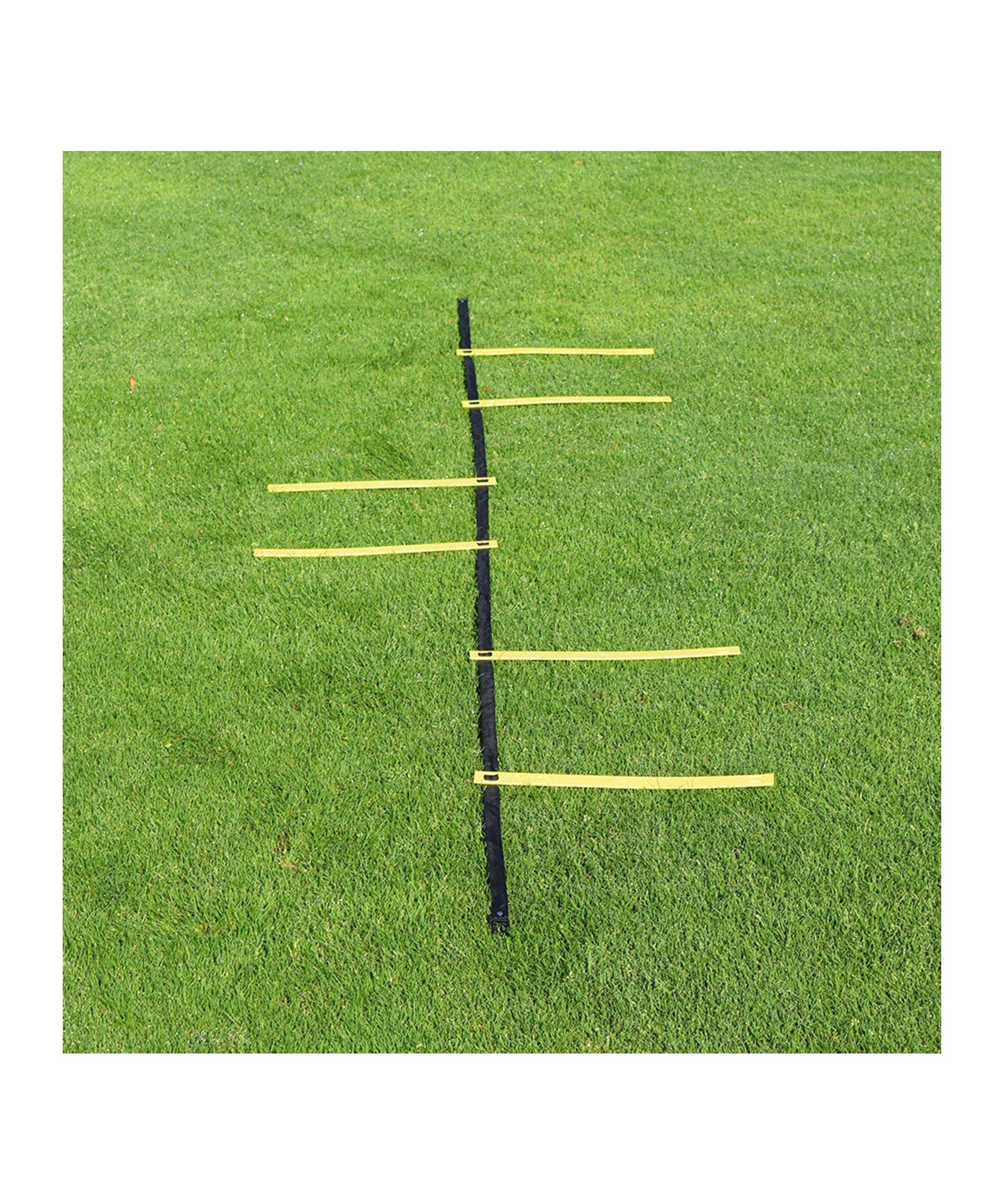 Cawila Goalkeeper Ladder & Tasche 6 Sprossen - weiss