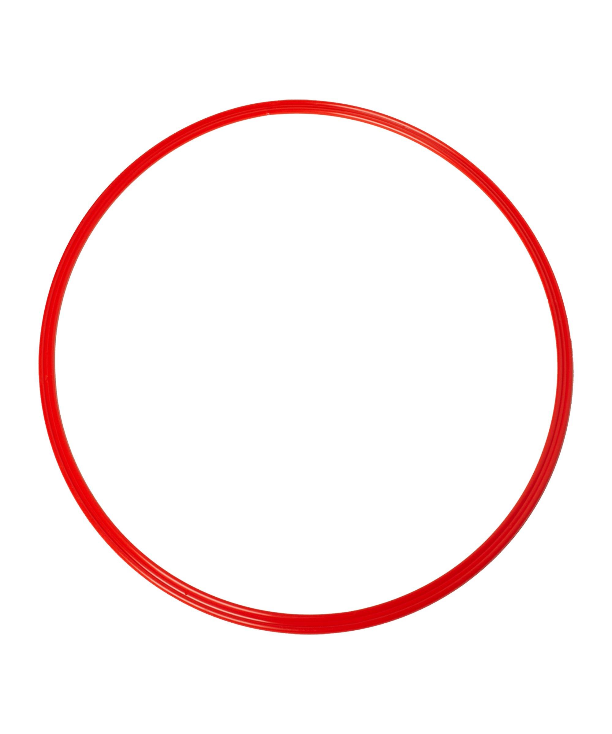 Cawila Koordinationsringe L 10er Set d70cm Rot - rot