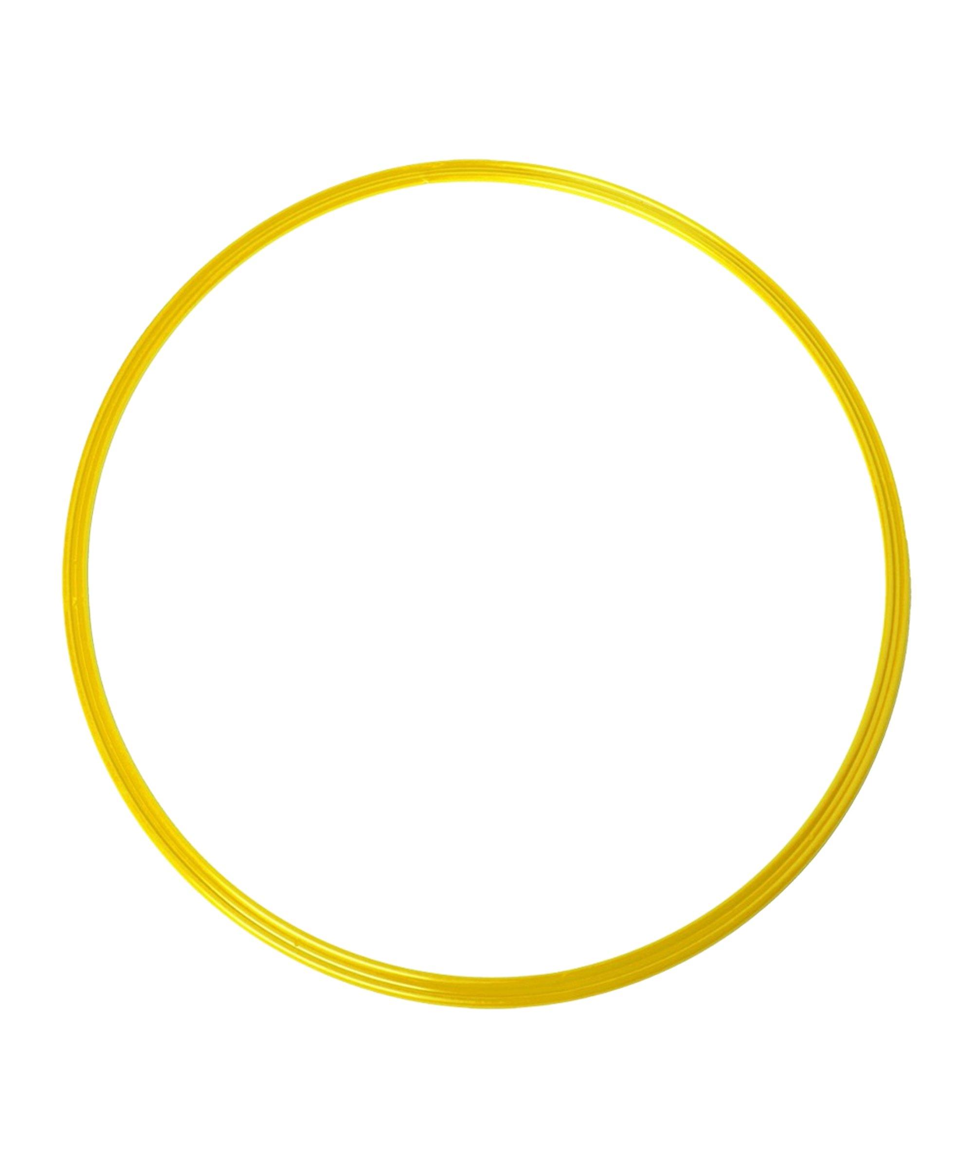 Cawila Koordinationsringe M 10er Set d50cm Gelb - gelb