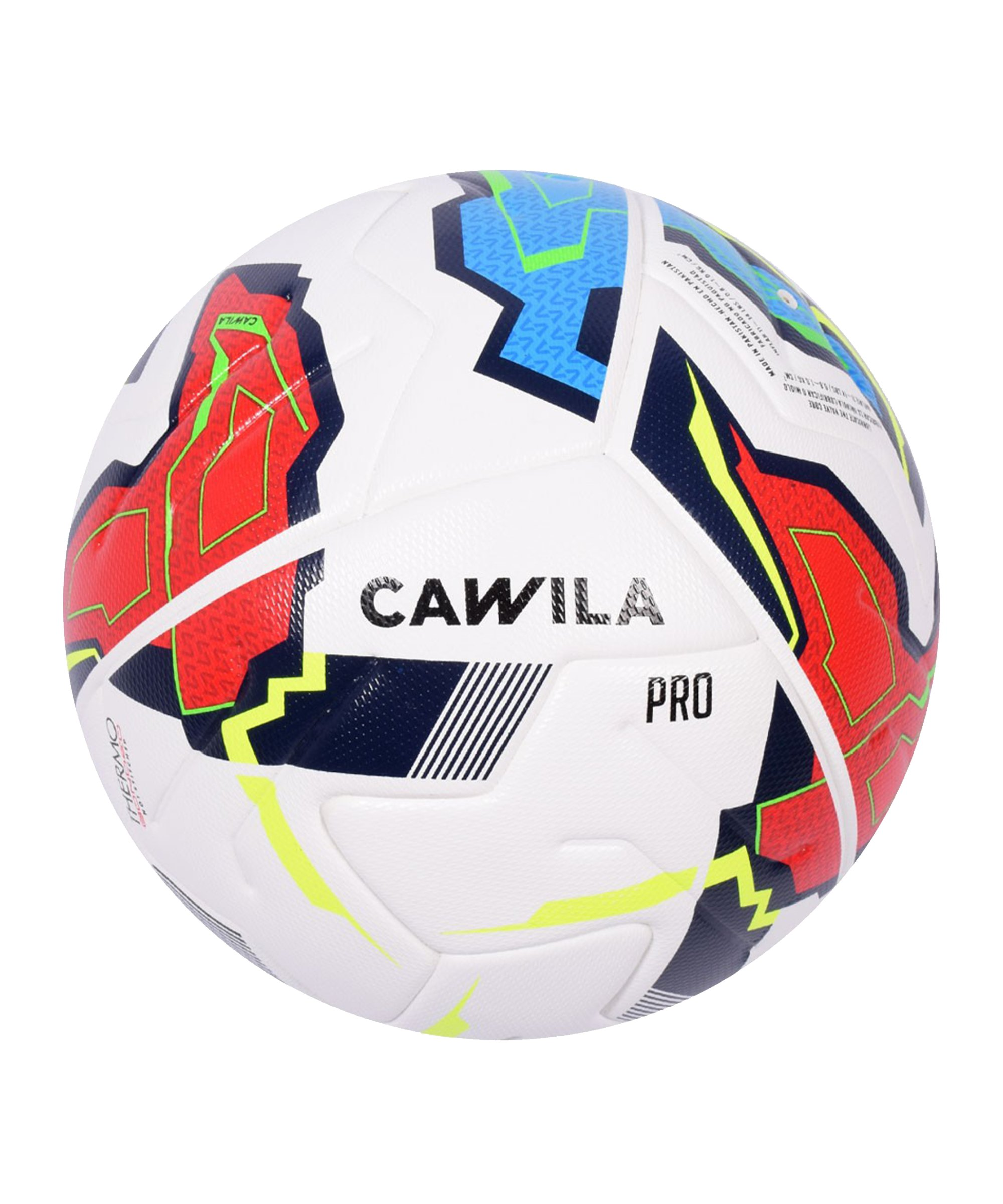 Cawila Fussball MISSION INVERTER Fairtrade 5 - weiss