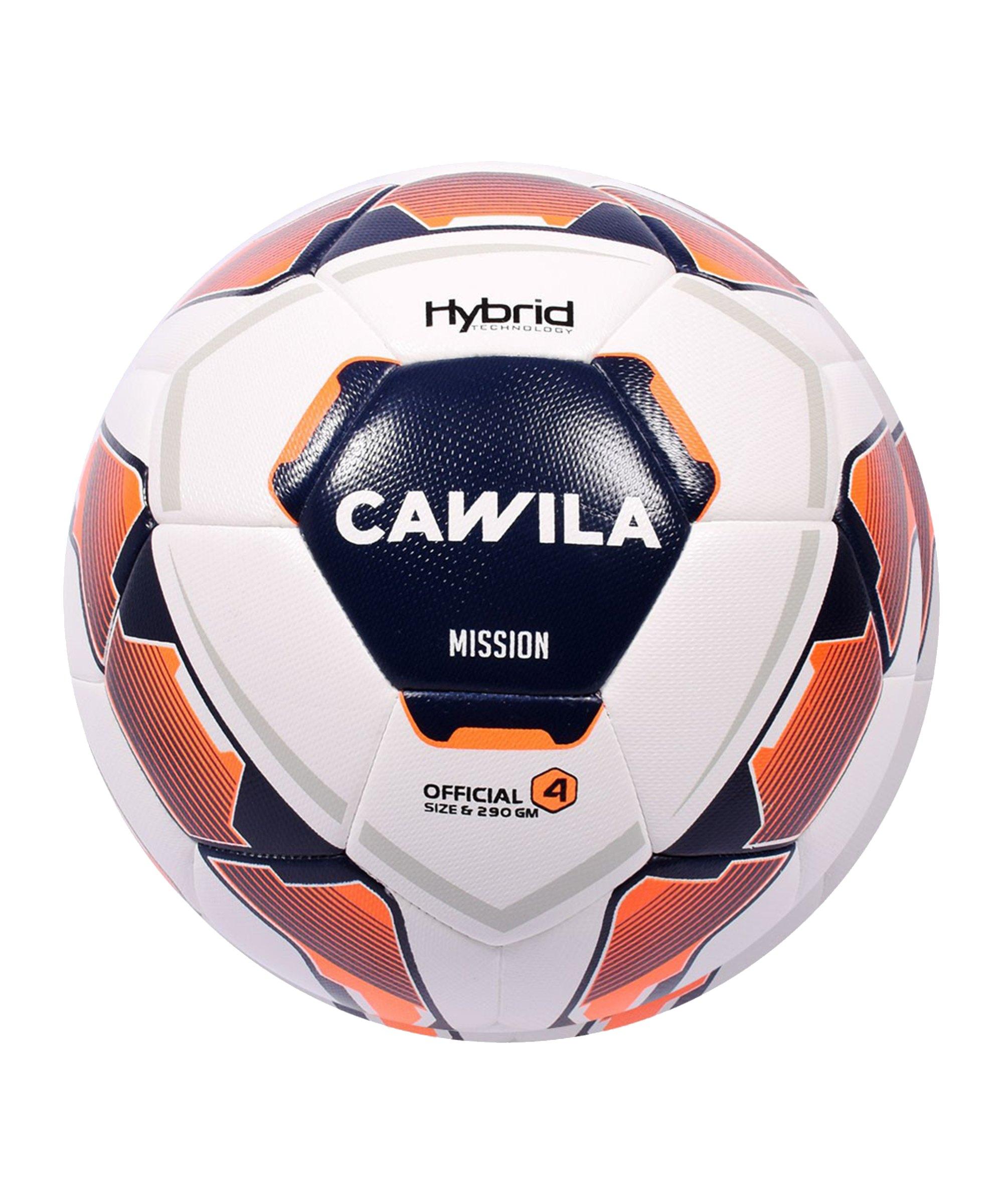 Cawila Fussball MISSION HYBRID X-LITE 290 290g 4 - weiss