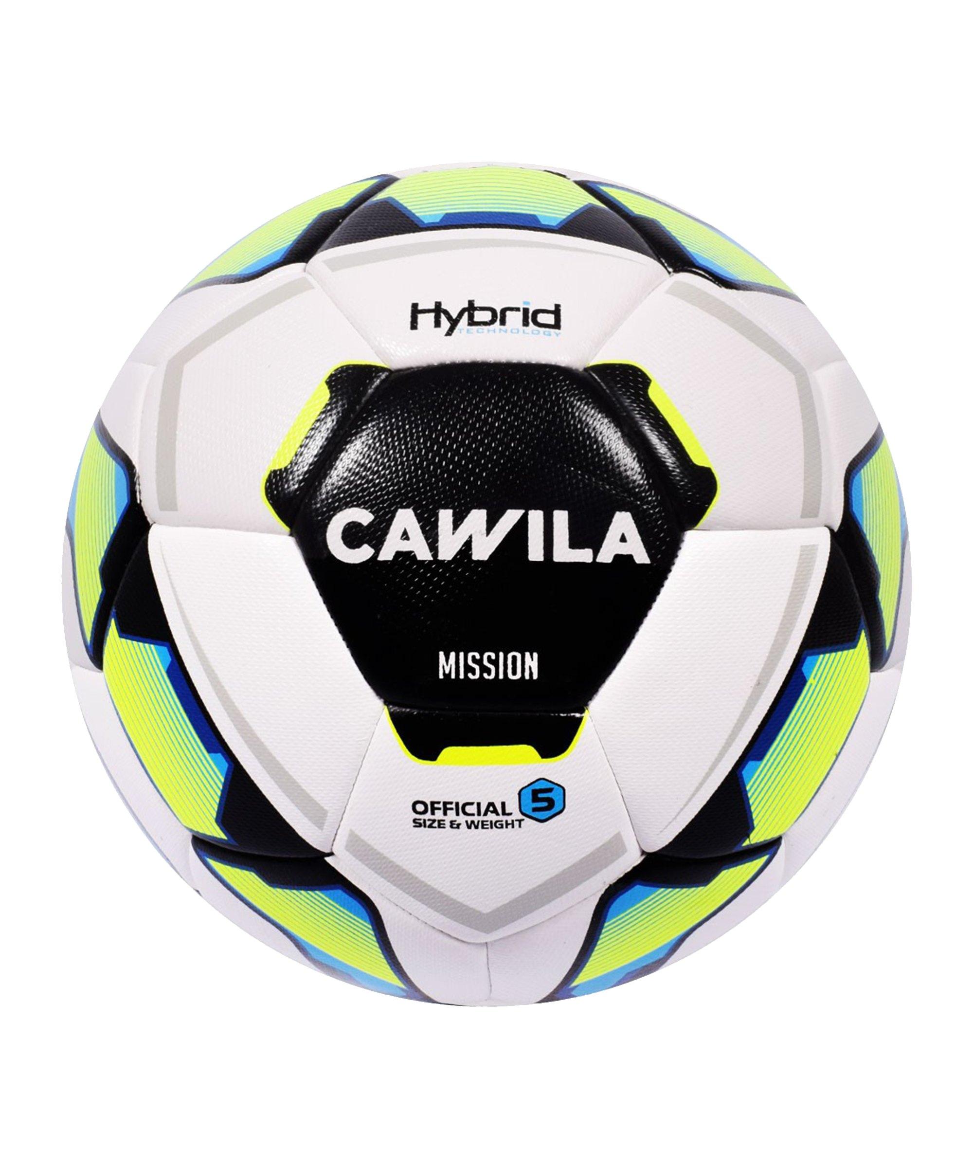 Cawila Fussball MISSION HYBRID X-LITE 290 290g 5 - weiss