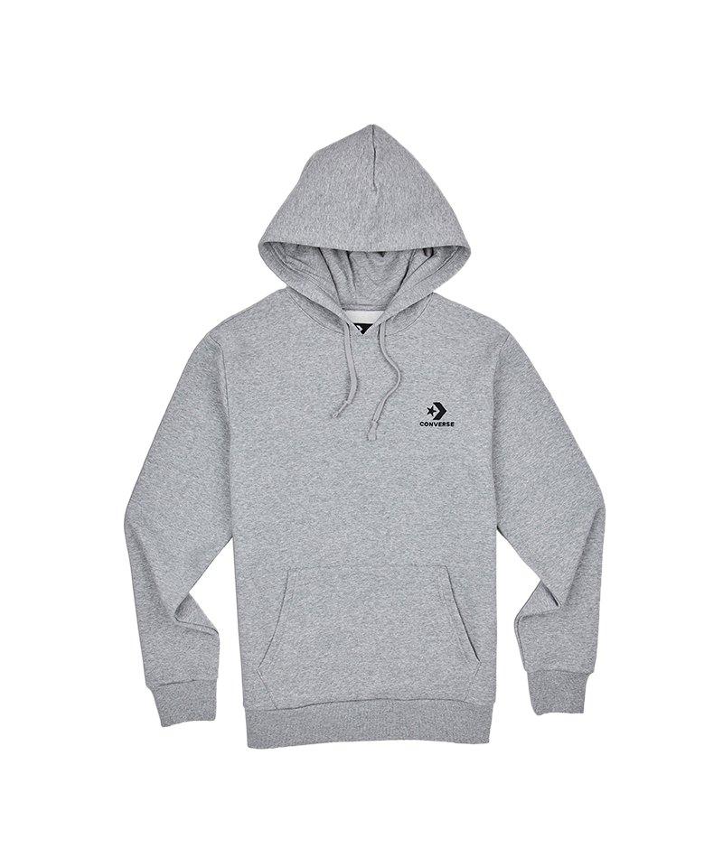 Converse Star Chevron Hoody Kapuzensweatshirt F035 - grau