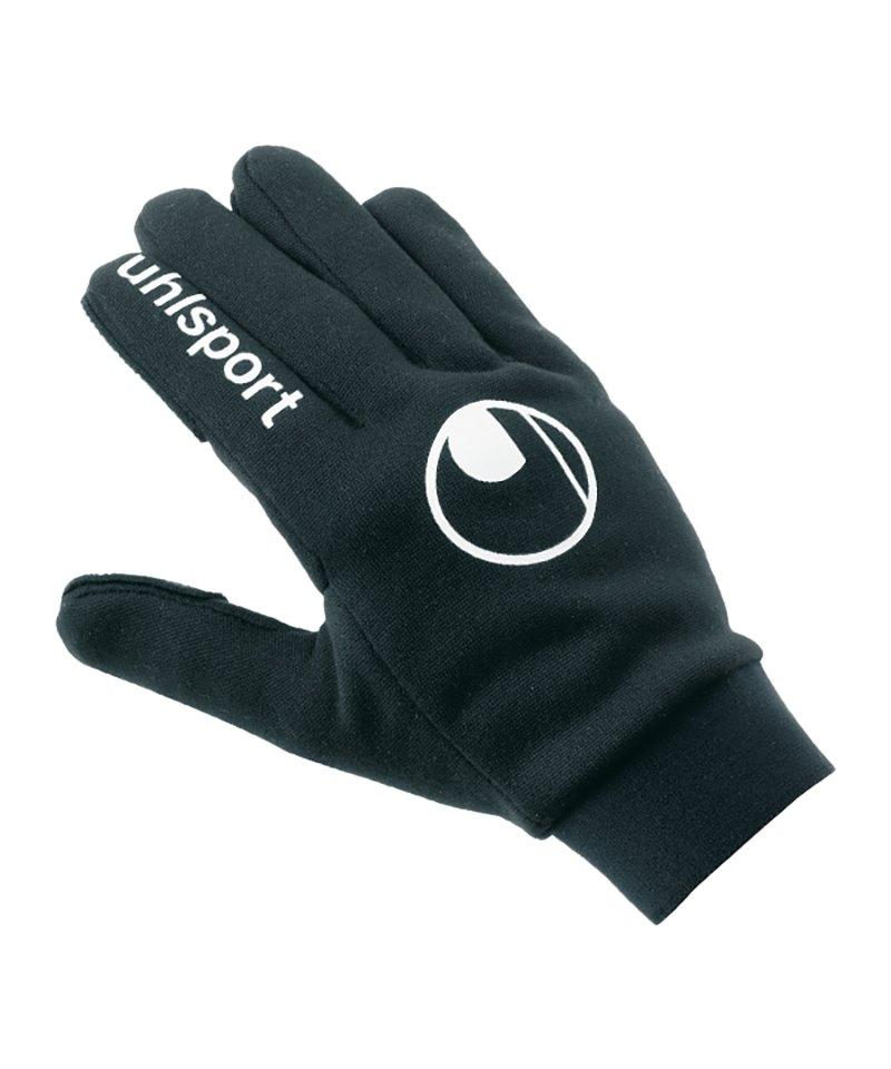 Uhlsport Feldspieler Handschuh Schwarz F01 - schwarz