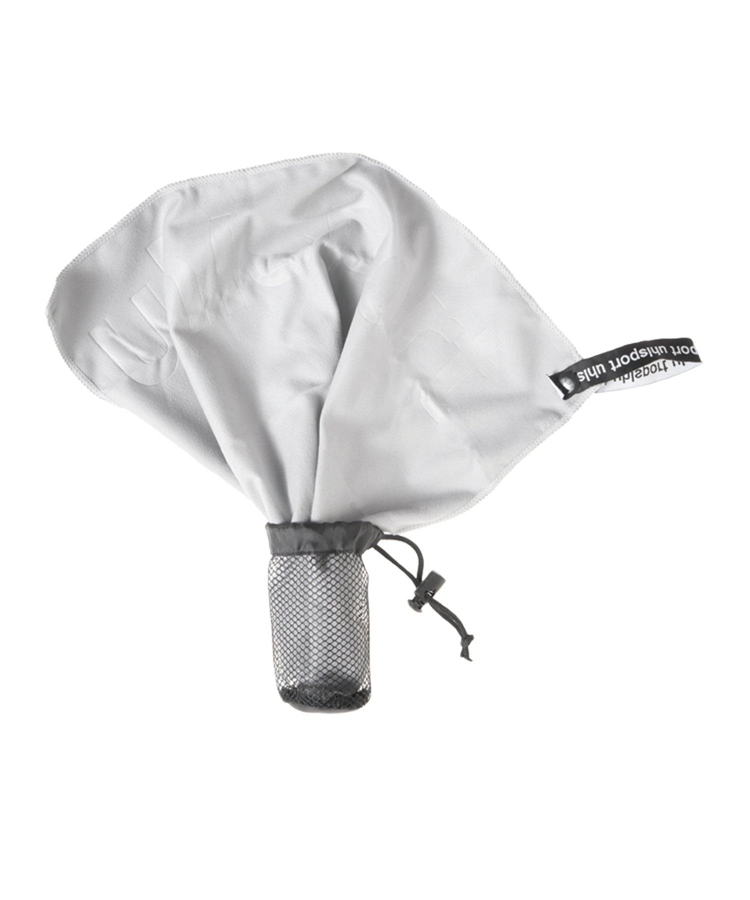Uhlsport Torwarthandschuhpflegetuch Grau F01 - grau