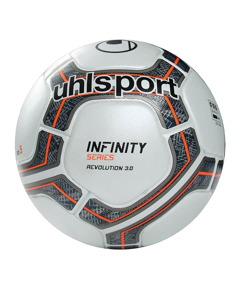 Uhlsport Spielball Infinity Revolution 3.0 F01 - weiss