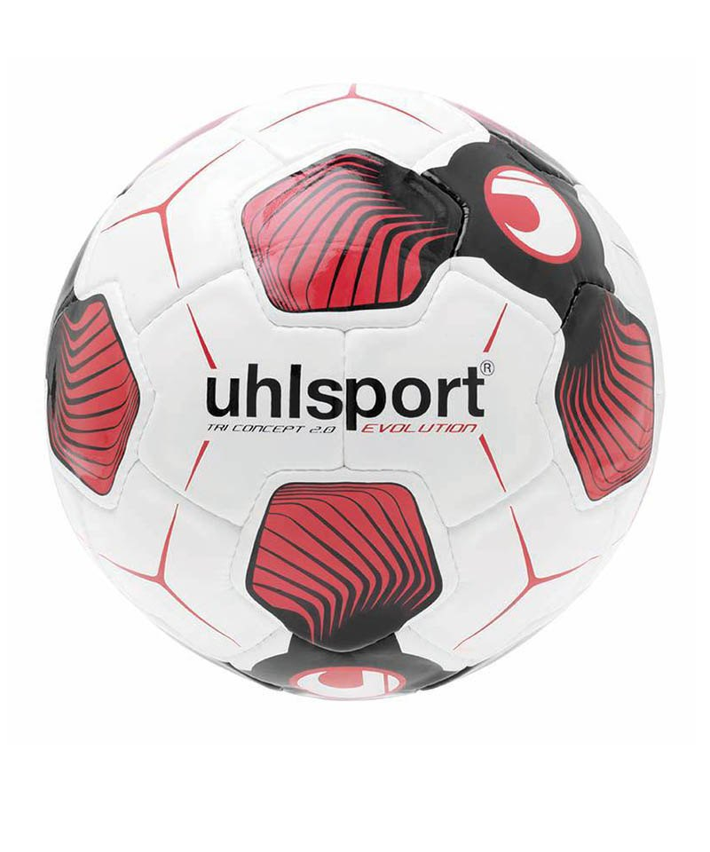 Uhlsport Ball Tri Concept 2.0 Evolution F01 - weiss