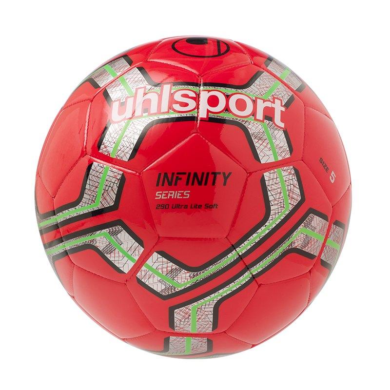 Uhlsport Infinity Trainingsball 290 Lite Rot F02 - rot