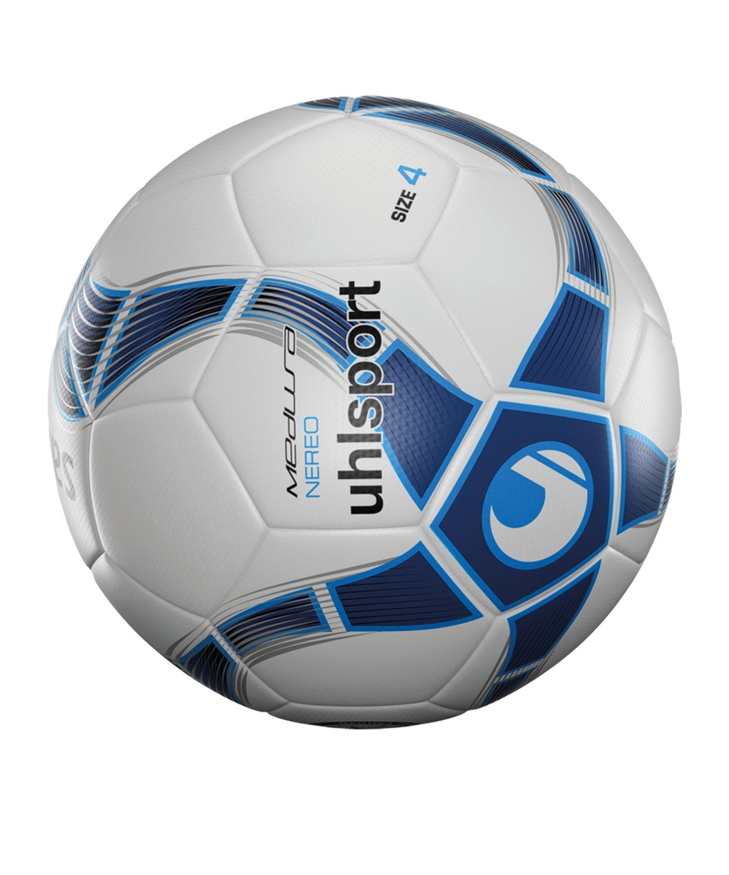Uhlsport Medusa Nereo Trainingsball Weiss F02 - weiss
