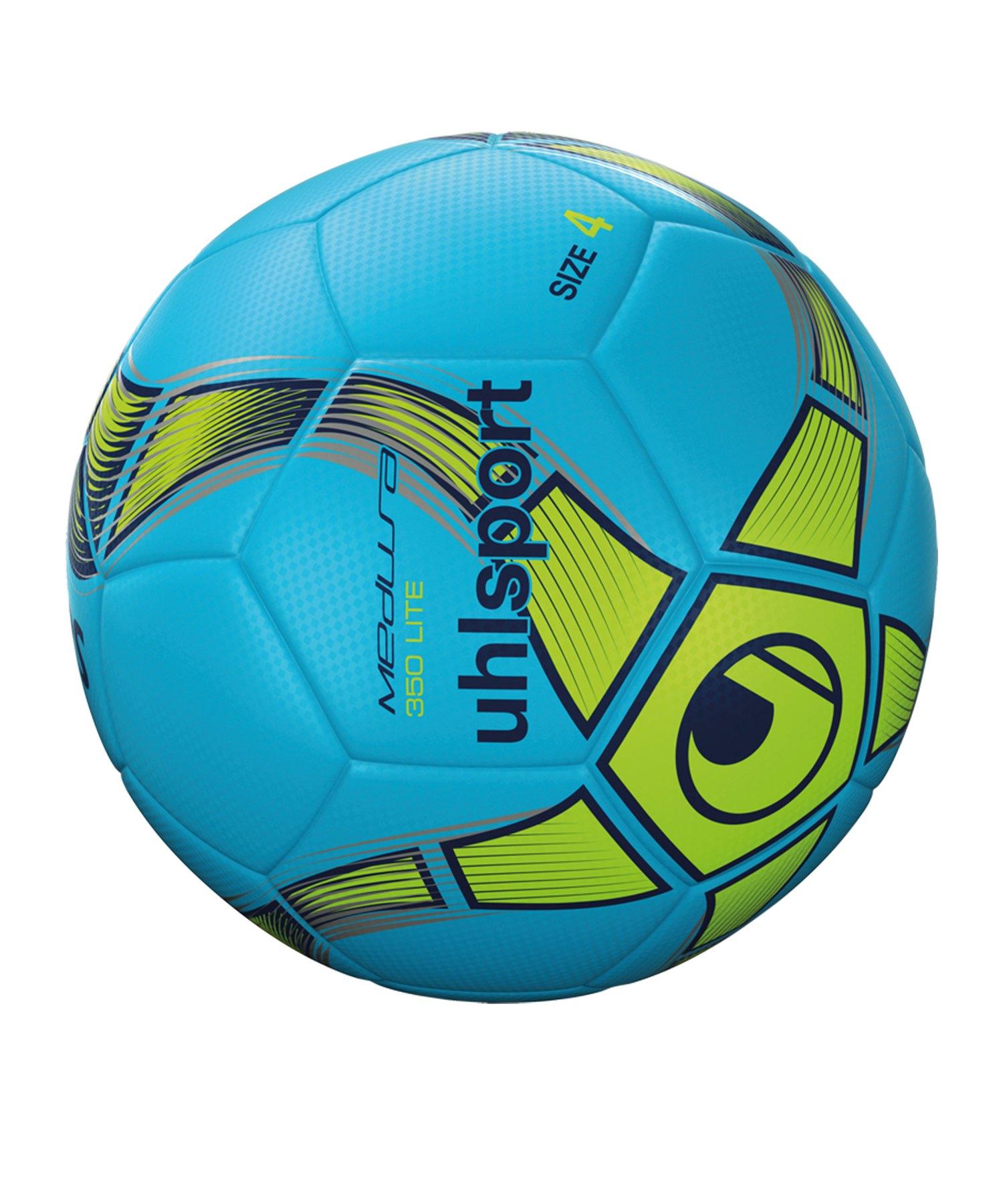 Uhlsport Medusa Anteo 350 Lite Fussball Blau F02 - blau