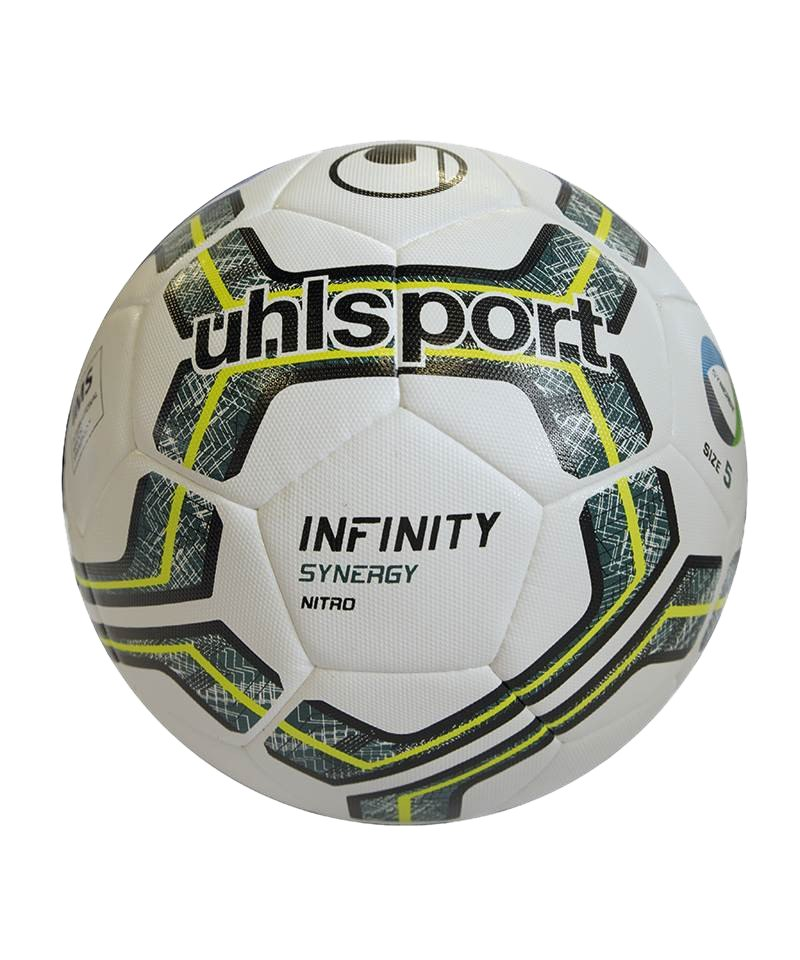 Uhlsport Ball Infinity Synergy Nitro 2.0 Weiss F01 - weiss