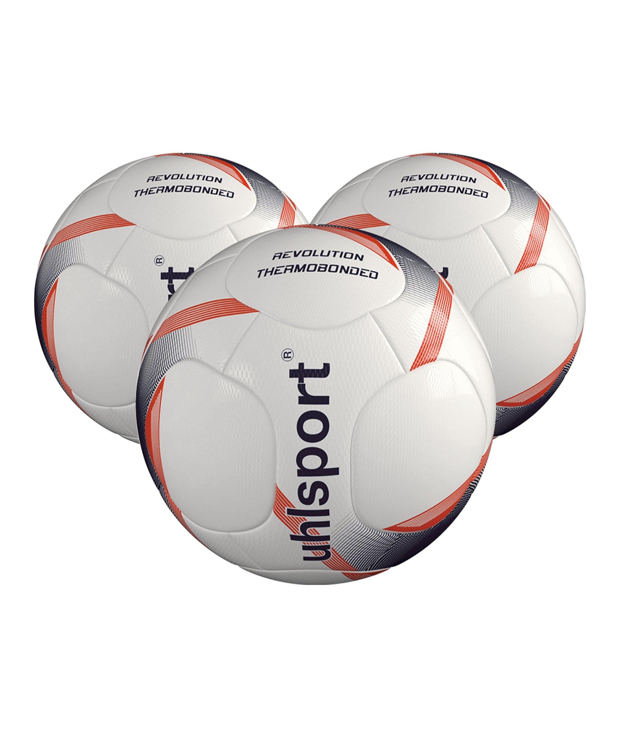Uhlsport Infinity Revolution 3.0 x3 Gr 5 Fussball F01 - weiss