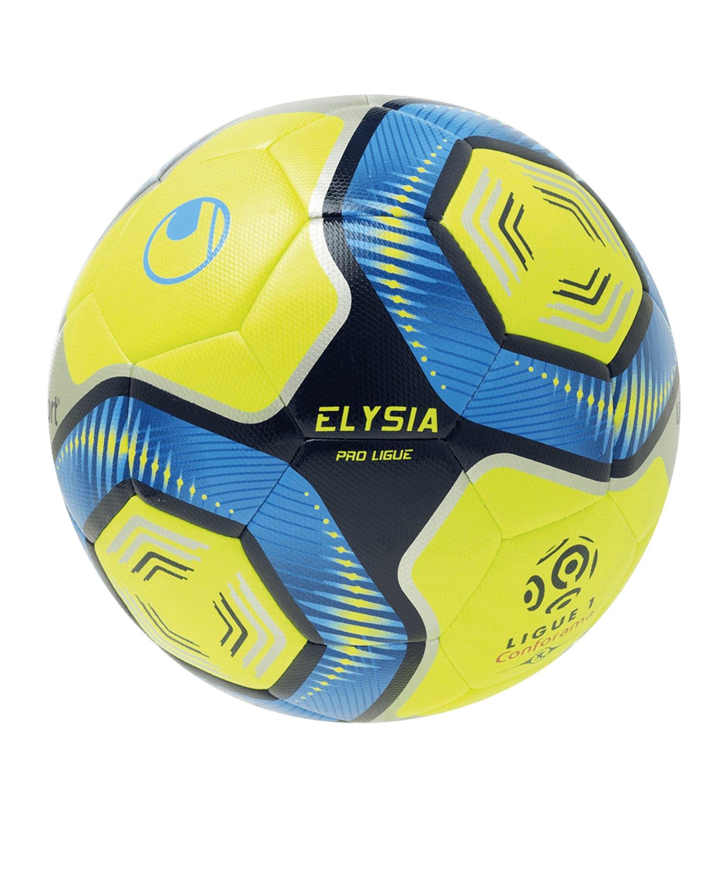 Uhlsport Elysia Pro Ligue Fussball Gelb Blau F02 - gelb