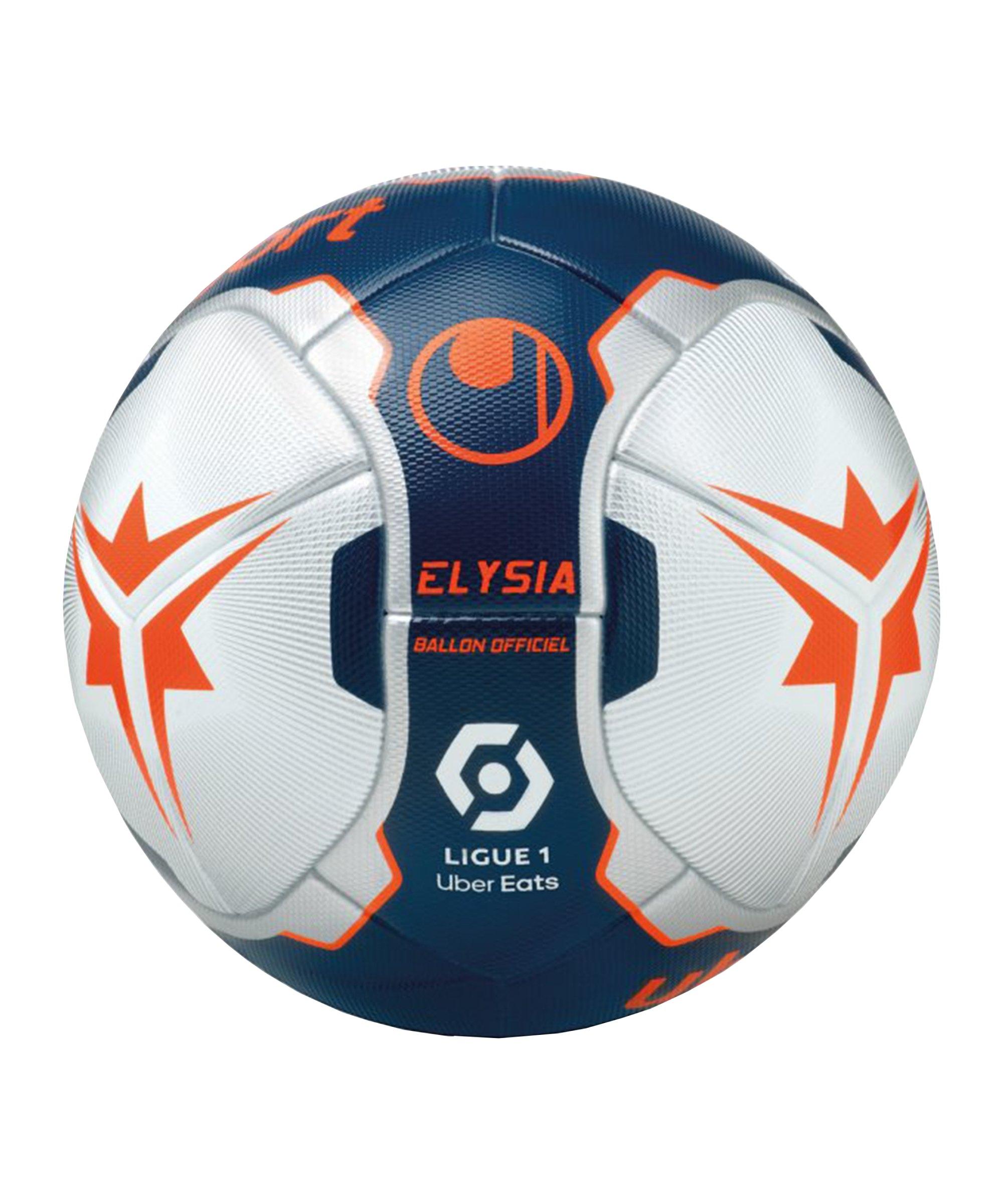 Uhlsport Elysia Ballon Officiel Spielball Blau - blau