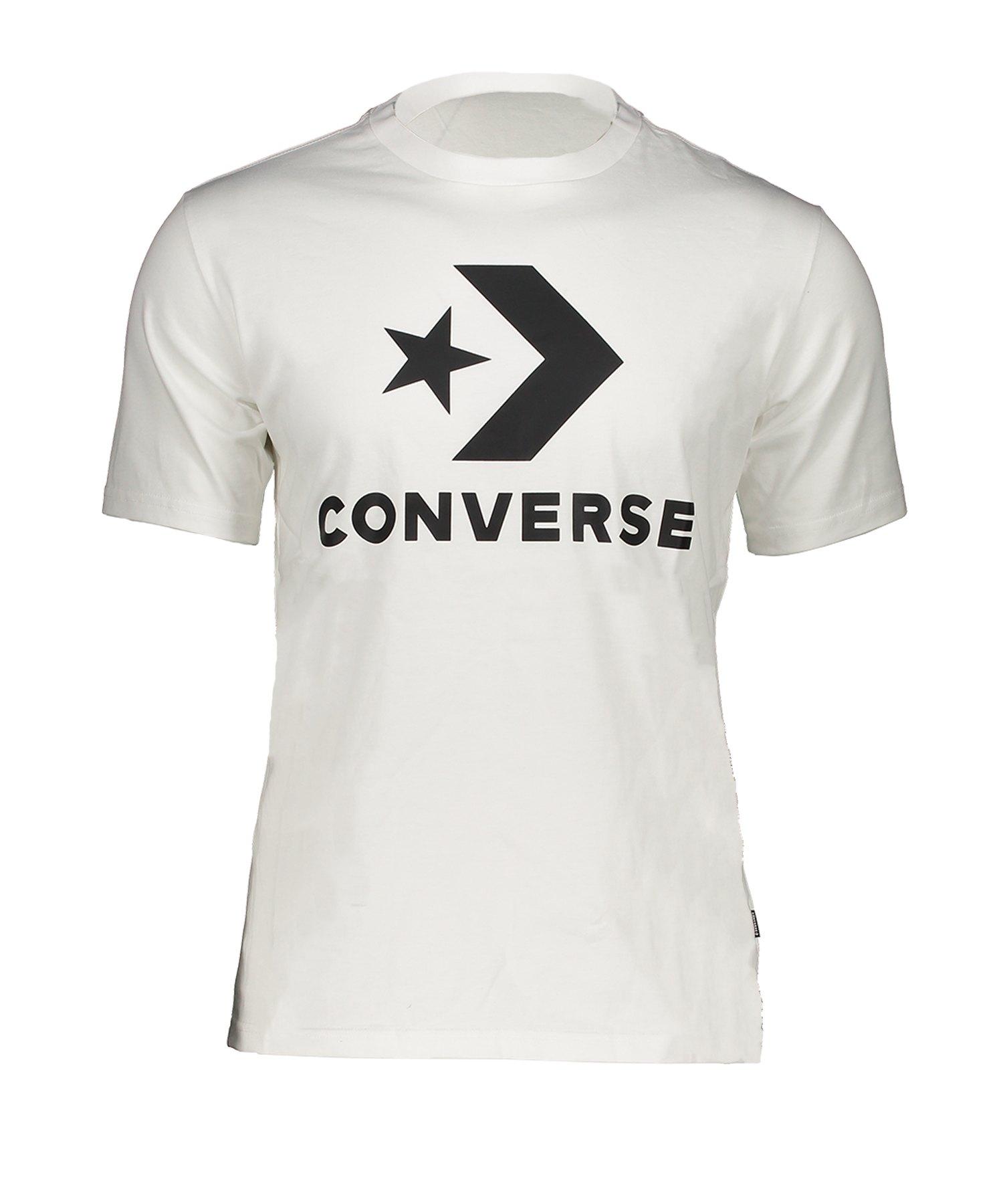 Converse Star Chevron T-Shirt Weiss F102 - weiss