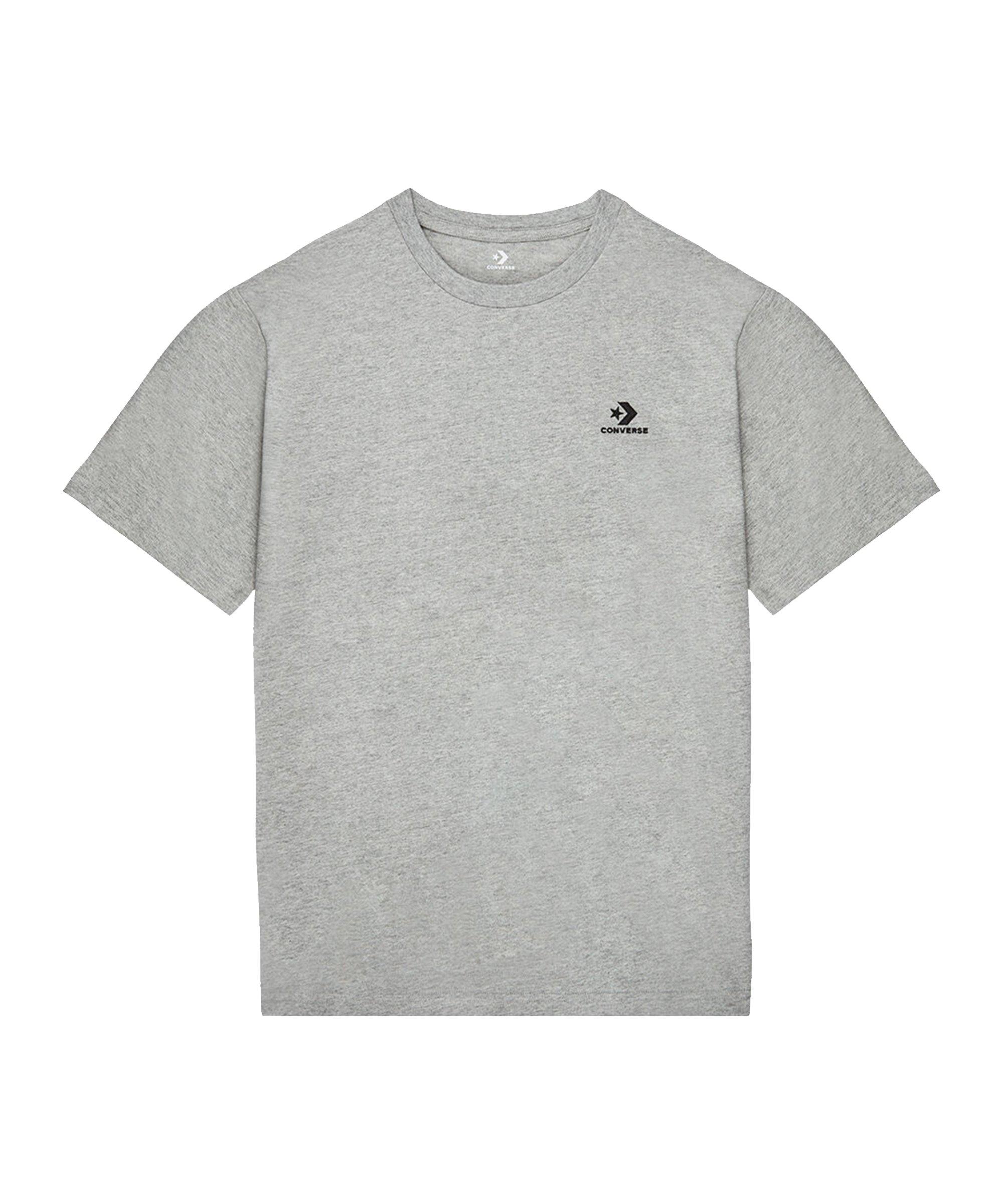 Converse Embroidered Star Chevron T-Shirt F035 - grau
