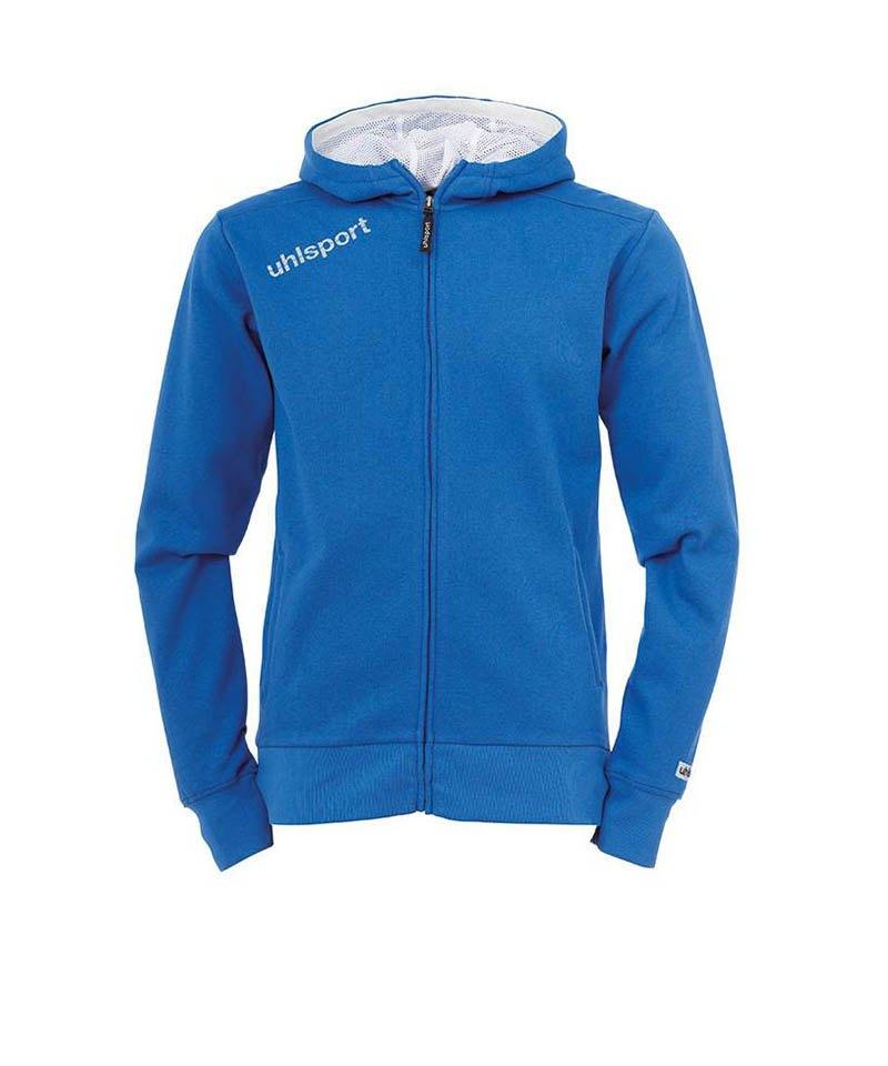 Uhlsport Kapuzenjacke Essential Kinder Blau F03 - blau