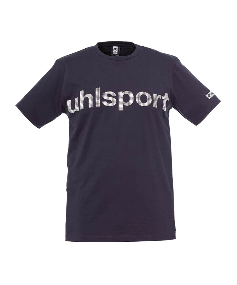 Uhlsport T-Shirt Essential Promo Kinder Blau F02 - blau