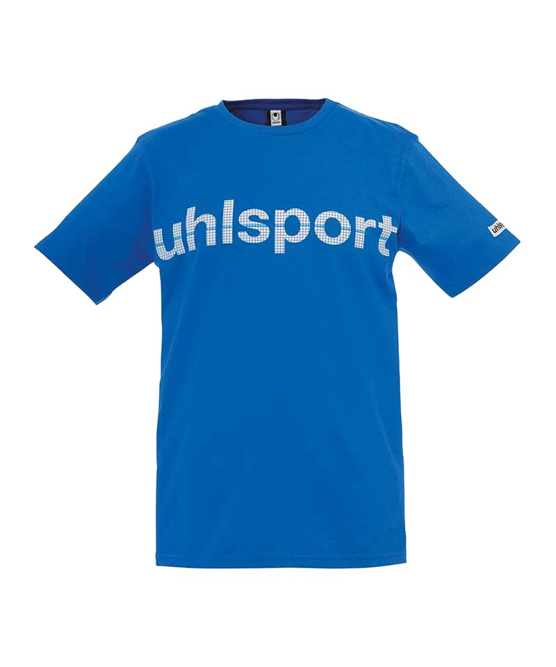 Uhlsport T-Shirt Essential Promo Kinder Blau F03 - blau