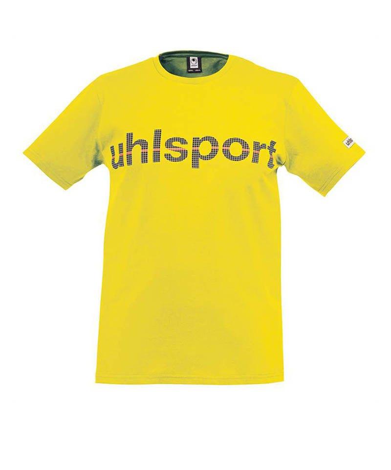 Uhlsport T-Shirt Essential Promo Kinder Gelb F05 - gelb