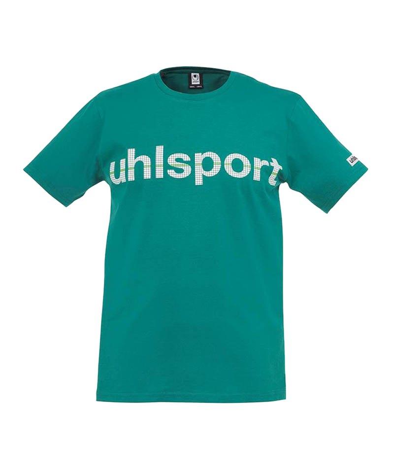 Uhlsport T-Shirt Essential Promo Kinder Grün F04 - gruen