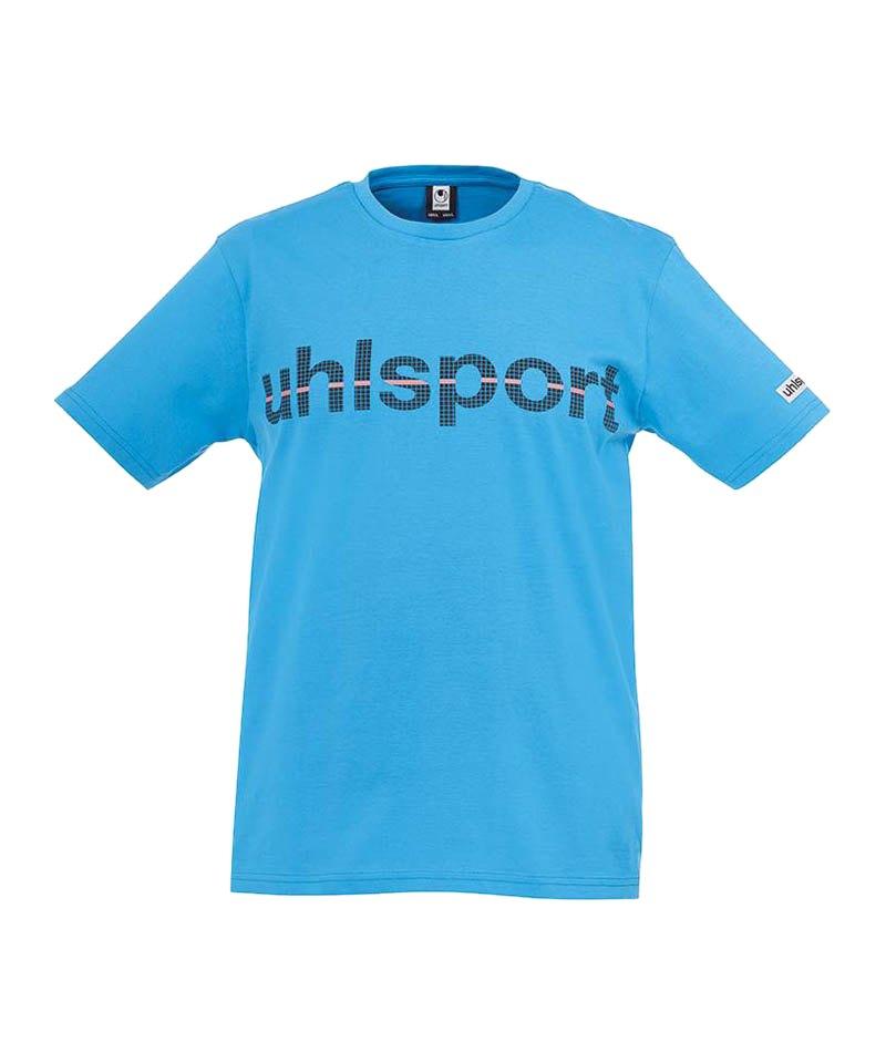 Uhlsport T-Shirt Essential Promo Kinder Hellblau F07 - blau