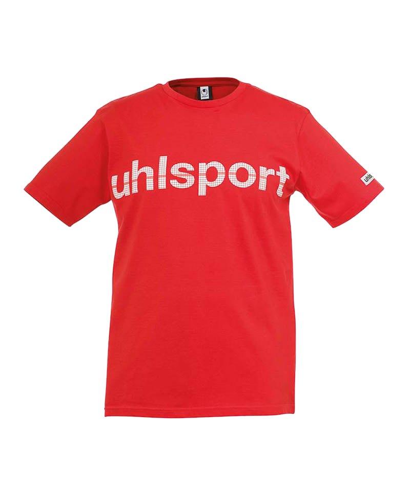 Uhlsport T-Shirt Essential Promo Kinder Rot F06 - rot