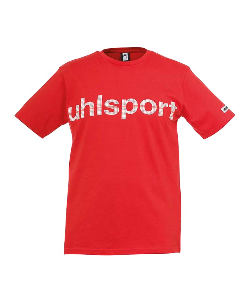 Uhlsport T-Shirt Essential Promo Rot F06 - rot