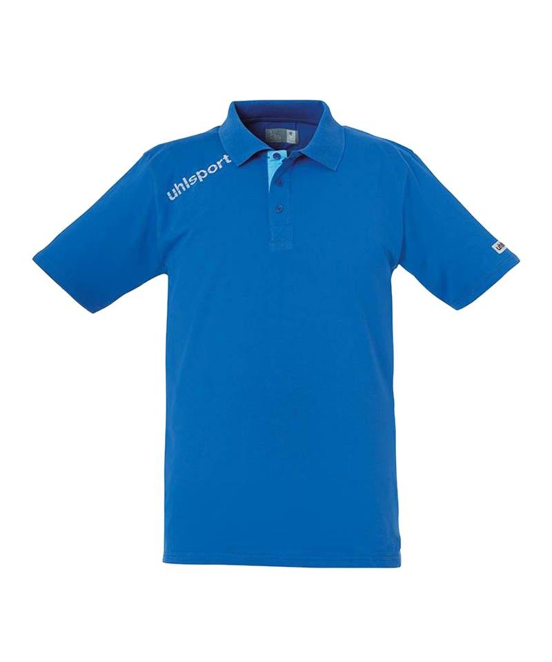 Uhlsport Poloshirt Essential Blau F03 - blau