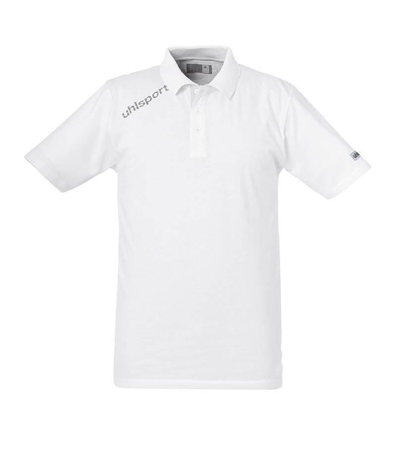 Uhlsport Poloshirt Essential Weiss F09 - weiss