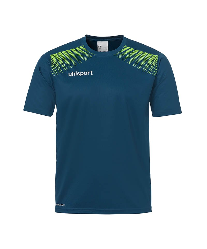 Uhlsport T-Shirt Goal Training Blau Grün F06 - blau