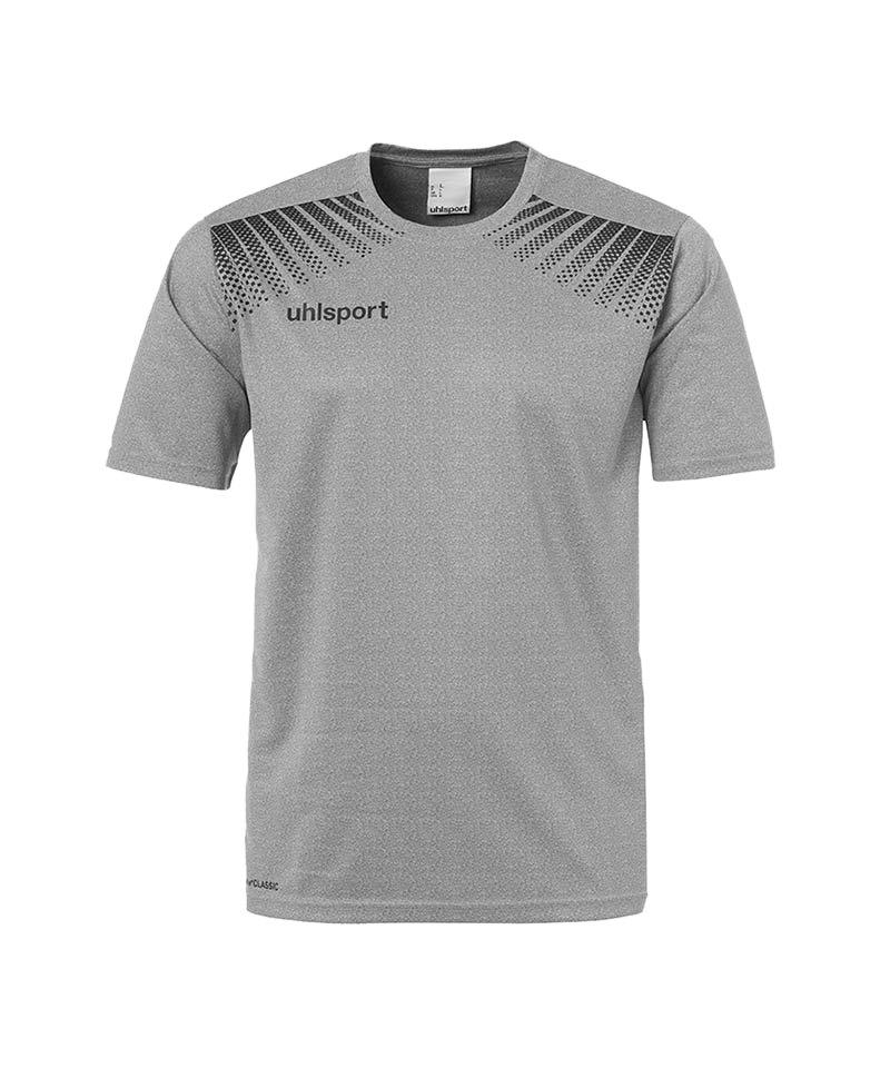 Uhlsport T-Shirt Goal Training Grau Schwarz F05 - grau