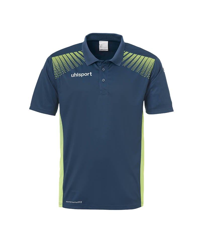 Uhlsport Poloshirt Goal Kinder Grün F06 - blau