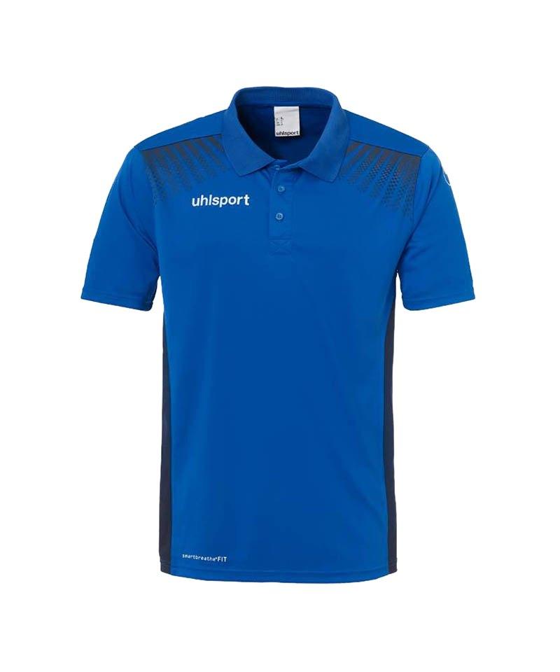 Uhlsport Poloshirt Goal Kinder Schwarz Blau F03 - blau