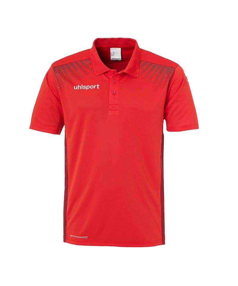 Uhlsport Poloshirt Goal Rot F04 - rot