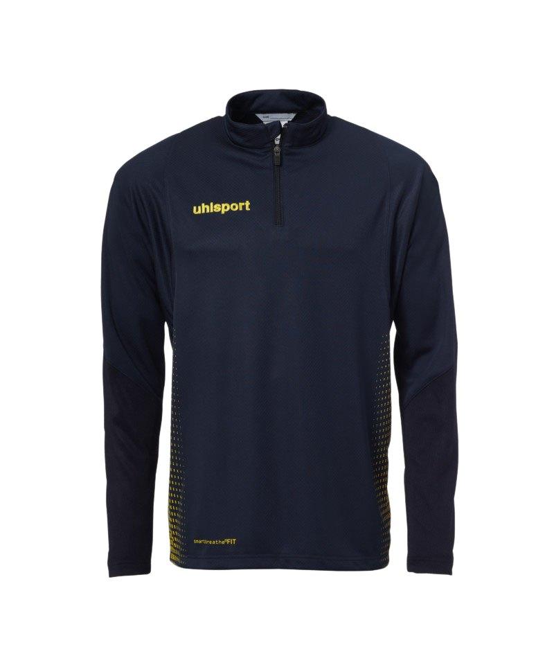 Uhlsport Score Ziptop Sweatshirt Blau Gelb F08 - blau