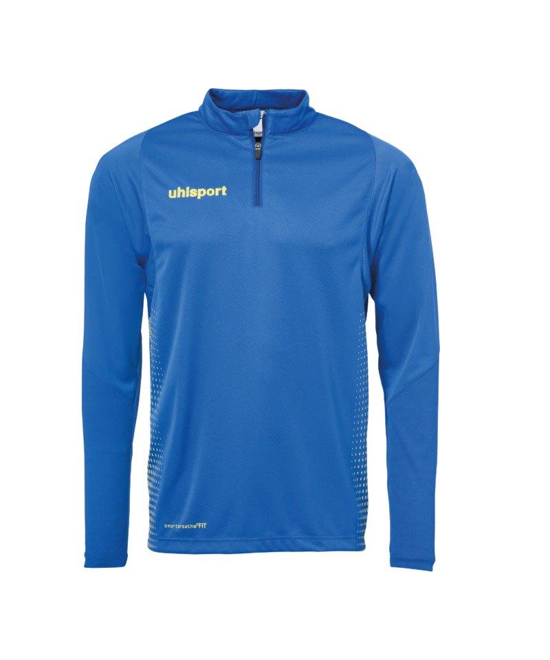 Uhlsport Score Ziptop Sweatshirt Blau Gelb F11 - blau
