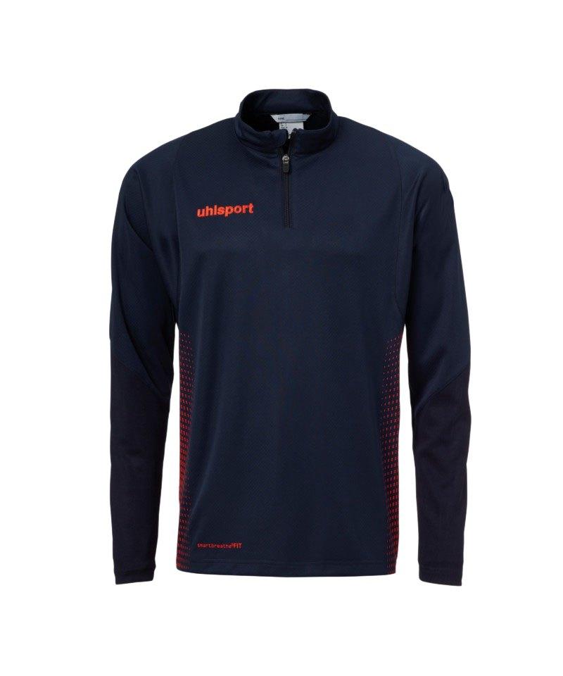 Uhlsport Score Ziptop Sweatshirt Blau Rot Kids F10 - blau