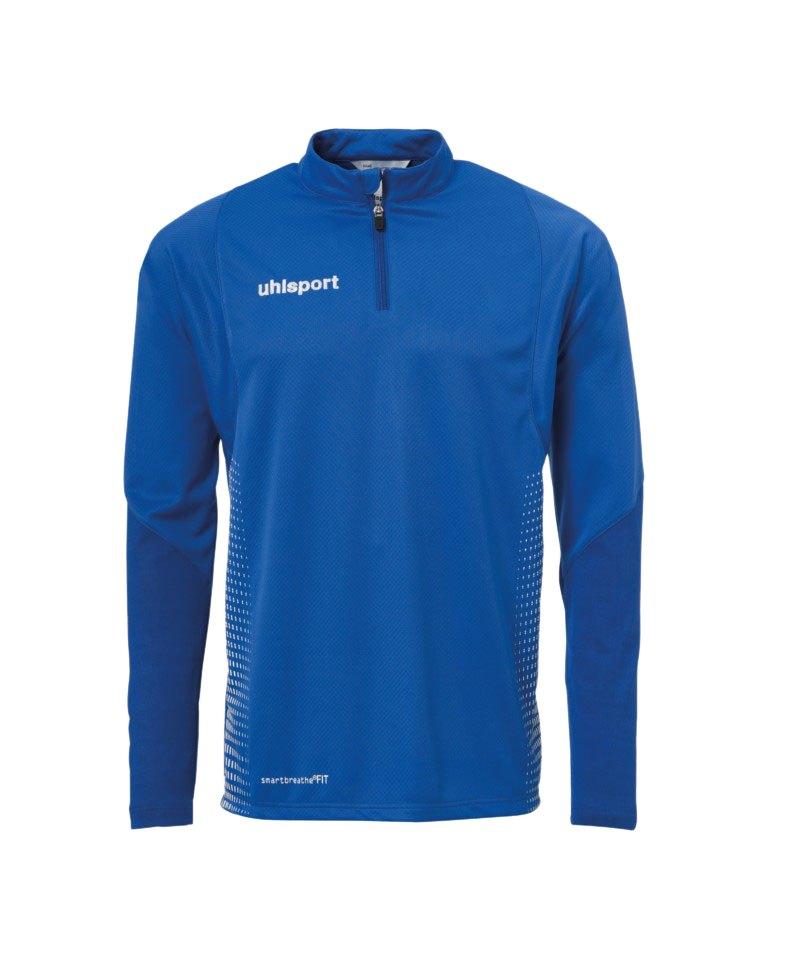 Uhlsport Score Ziptop Sweatshirt Blau Weiss F03 - blau