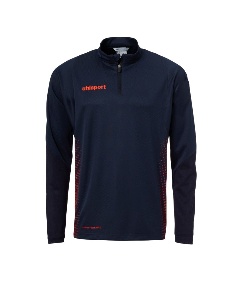 Uhlsport Score Ziptop Sweatshirt Kids Blau Rot F10 - blau