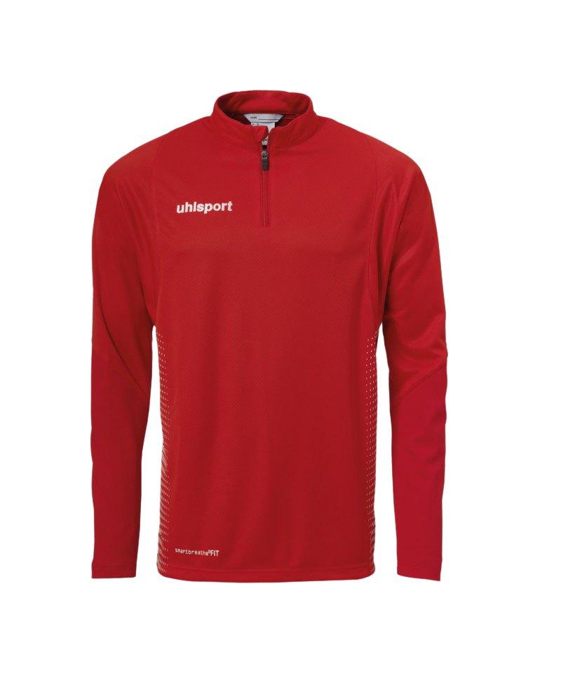 Uhlsport Score Ziptop Sweatshirt Rot Weiss F04 - rot