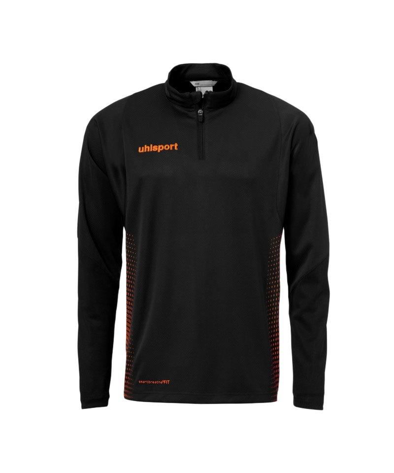Uhlsport Score Ziptop Sweatshirt Schwarz F09 - schwarz