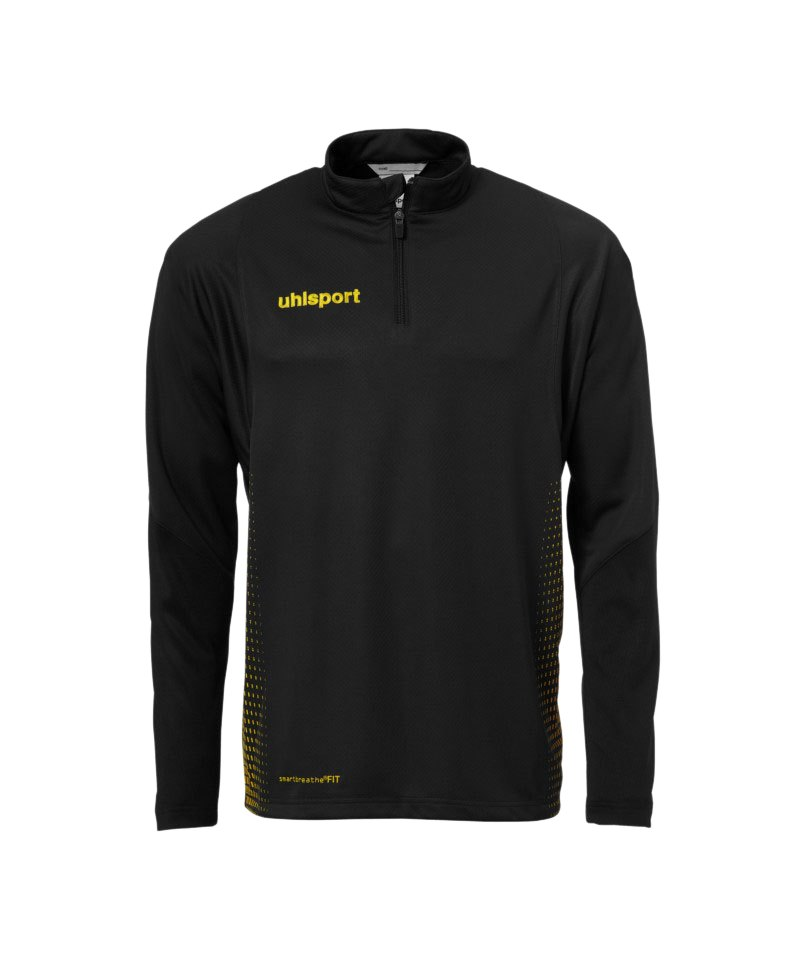 Uhlsport Score Ziptop Sweatshirt Schwarz Gelb F07 - schwarz