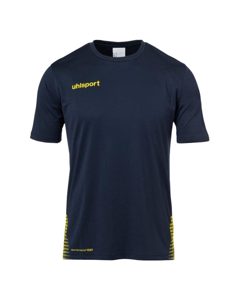 Uhlsport Score Training T-Shirt Blau Gelb F08 - blau