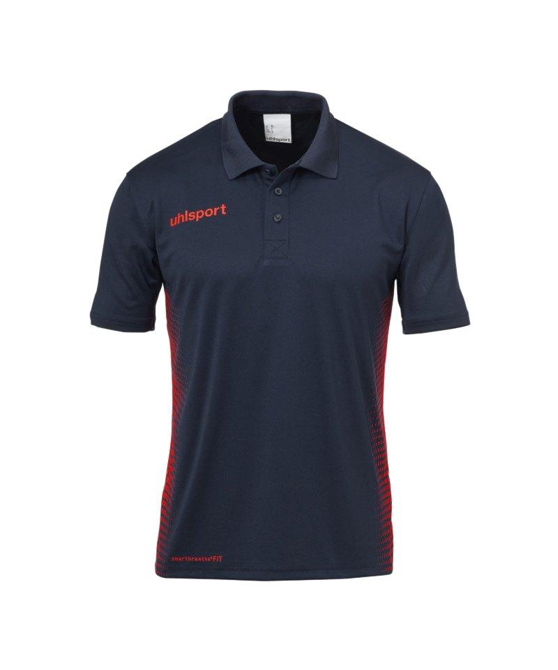Uhlsport Score Poloshirt Blau Rot F10 - blau