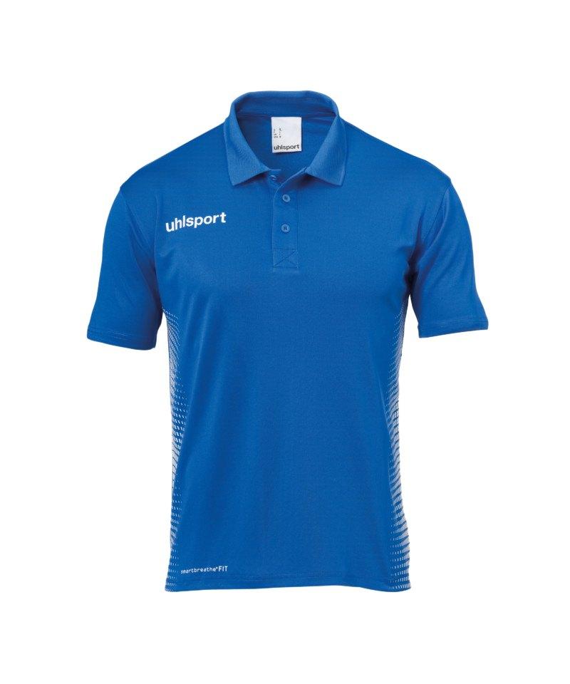 Uhlsport Score Poloshirt Blau Weiss F03 - blau