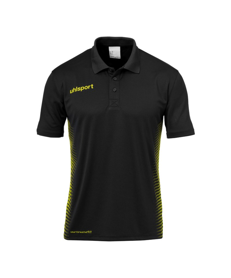 Uhlsport Score Poloshirt Schwarz Gelb F07 - schwarz