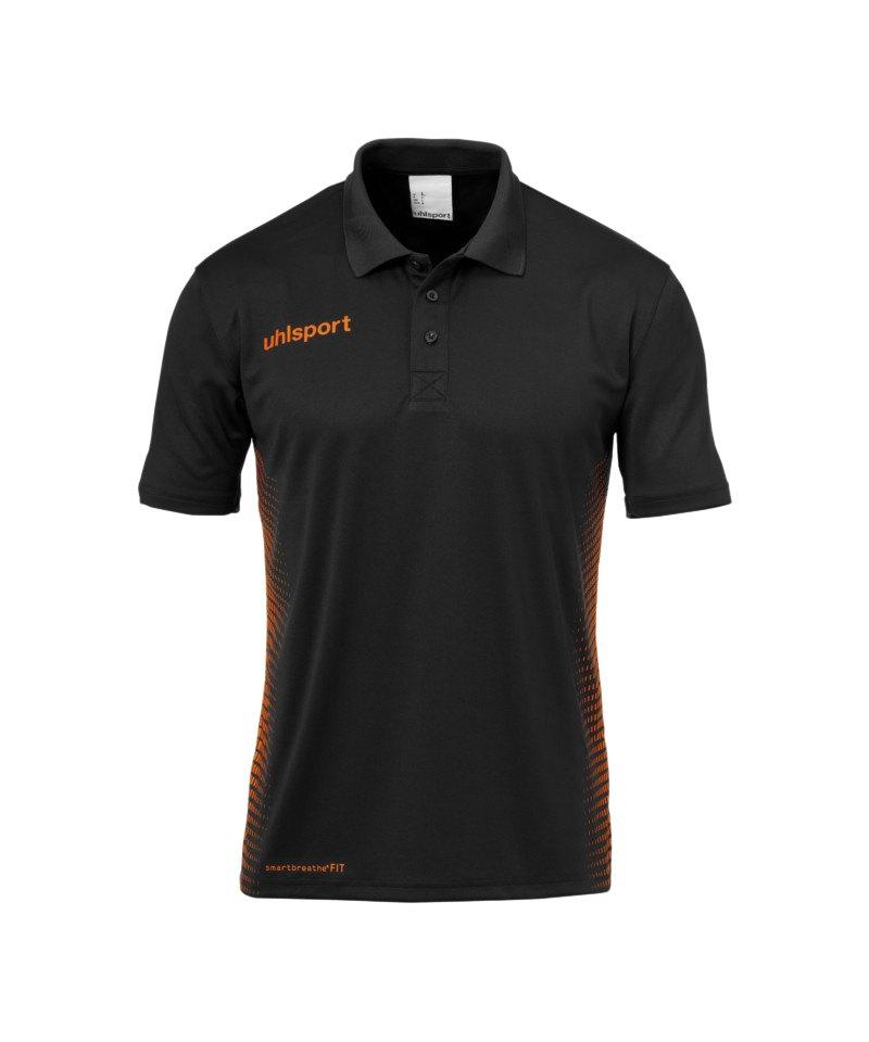 Uhlsport Score Poloshirt Schwarz Orange F09 - schwarz