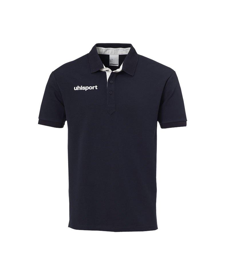Uhlsport Essential Prime Poloshirt Blau F02 - blau
